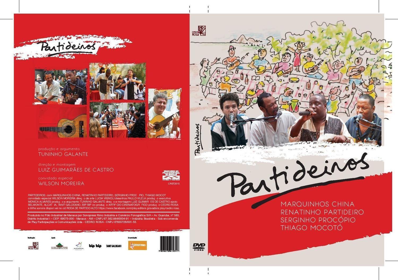 Partideiros - DVD