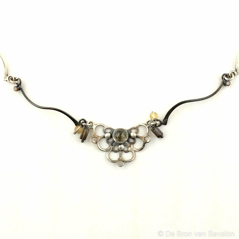 Halsketting zilver - Lize Mommaerts