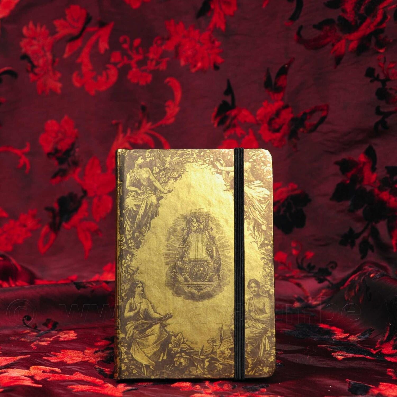 Notitieboekje, 'antiek goud'