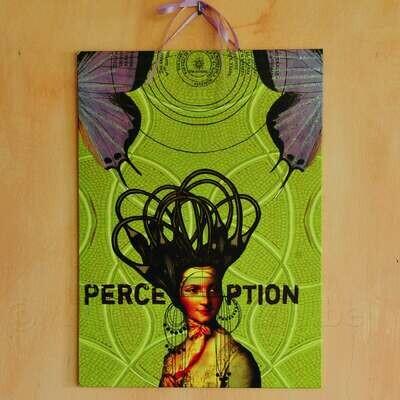 Grote illustratie 'Perception'
