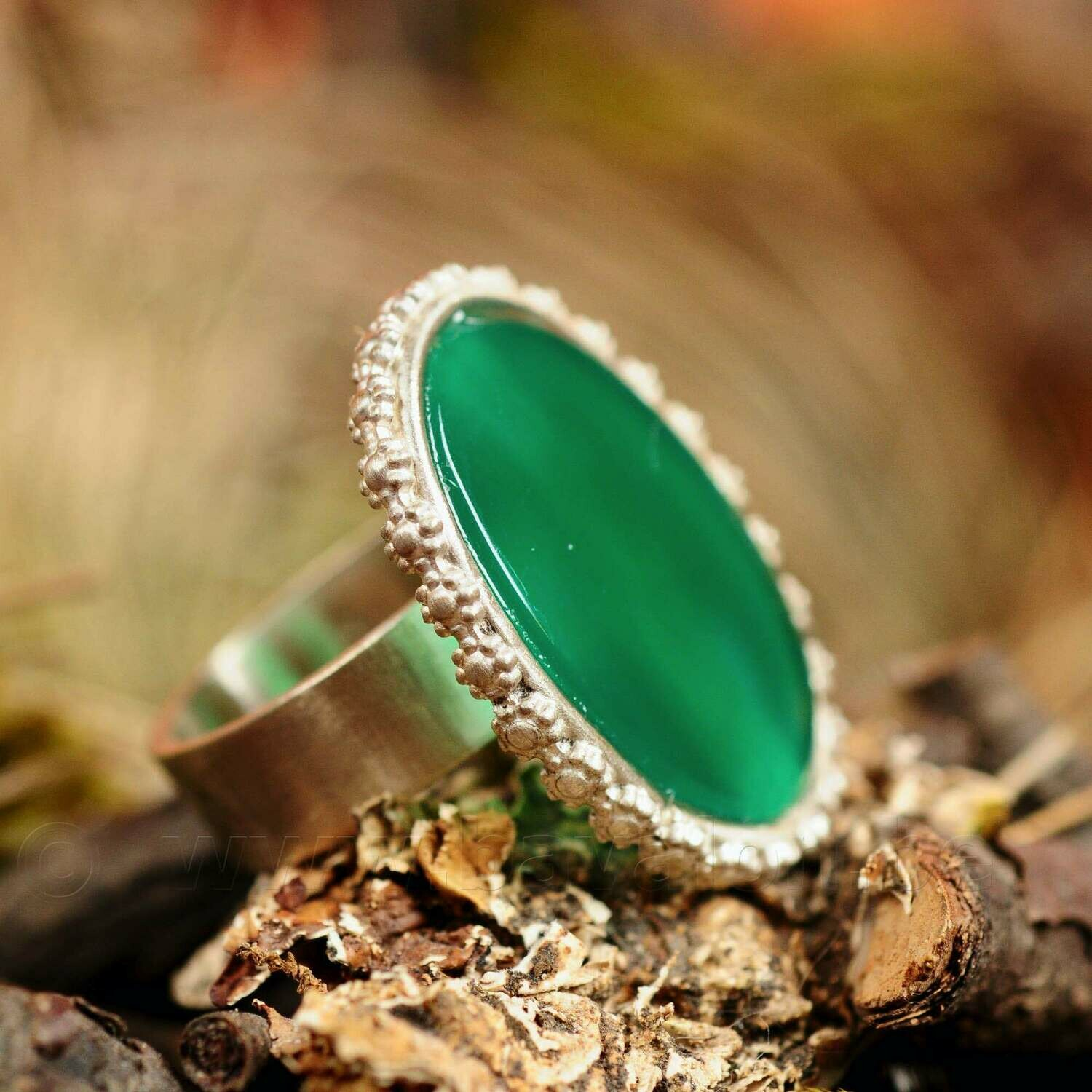 Ring in massief zilver - UNICA - Lize Mommaerts - Maat 55,5
