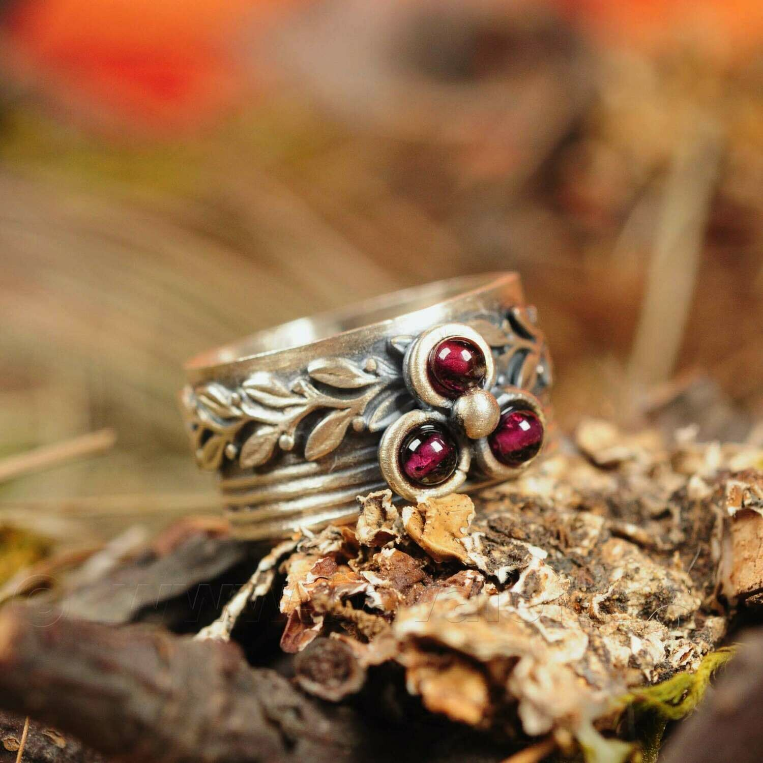 Ring in massief zilver - UNICA - Lize Mommaerts - Maat 55