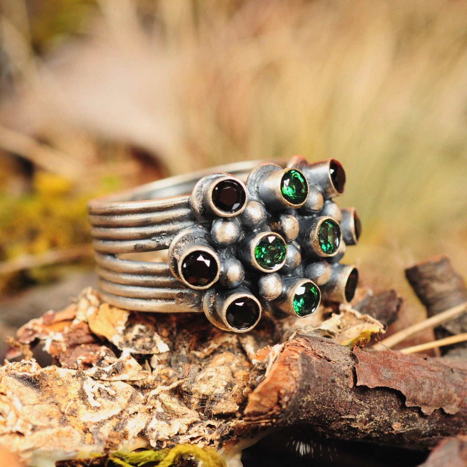 Ring in massief zilver - UNICA - Lize Mommaerts - Maat 57,5