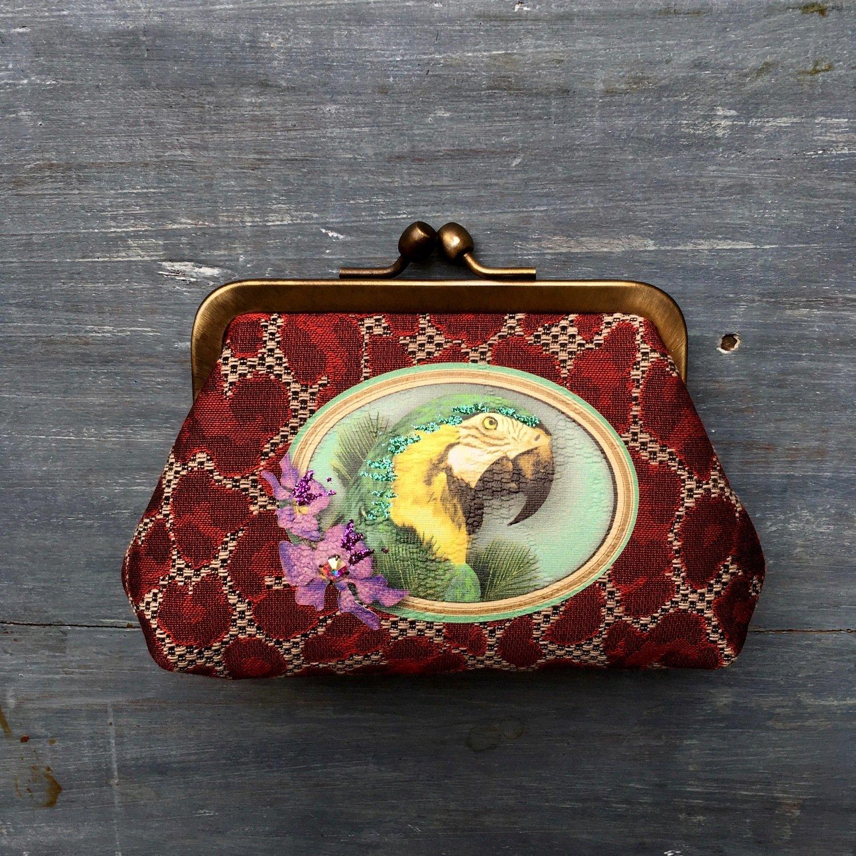 Portemonnee 'Hawai' - Les Cakes de Bertrand (minieme beschadiging)