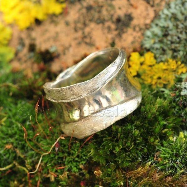 Ring in massief zilver - Ralf De Burchgrave (België)