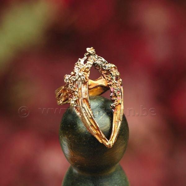 Ring 'Guardian' in massief zilver - Kaat Tilley