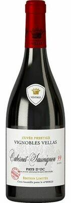 Vignobles Vellas Cabernet Sauvignon 2017 - Grande Cuvée - Blend 99 - Pays d'Oc IGP - 75cl