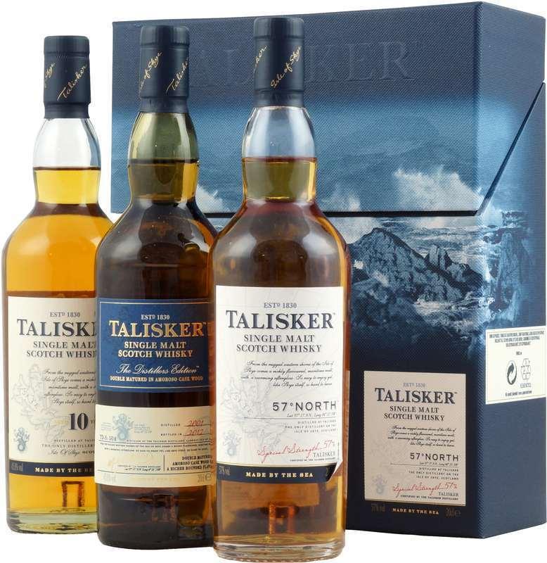 Talisker Gift box 3 x 20cl