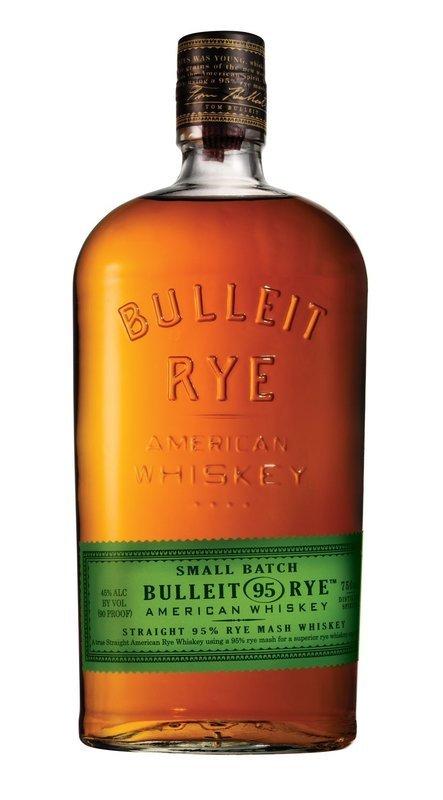 Bulleit 95 Rye Bourbon 45% / 70cl
