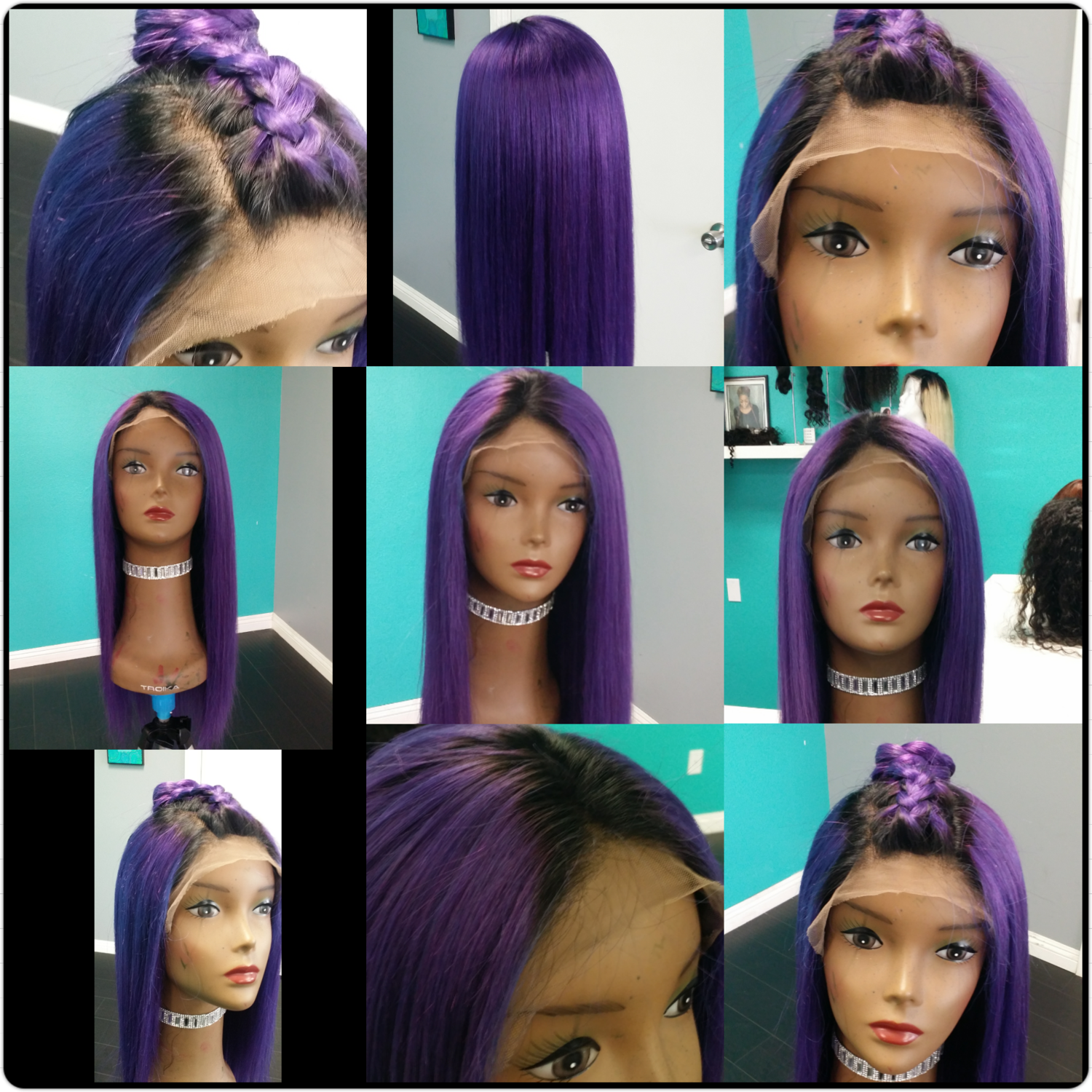 Ms. Plum Full Lace Wig