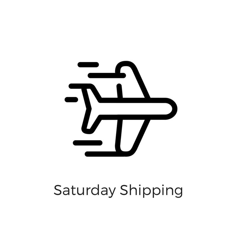 Saturday Shipping