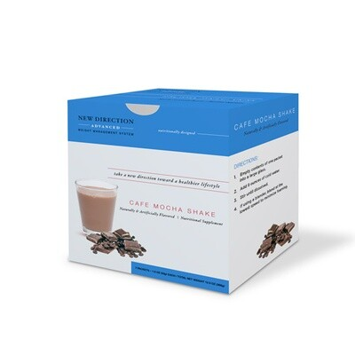 New Direction Advanced Cafe Mocha Shake - 7/Box