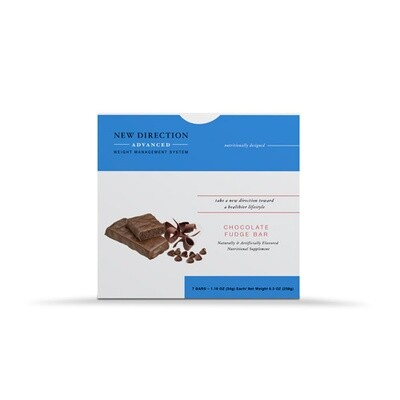 New Direction Advanced Chocolate Fudge Bar - 7/Box