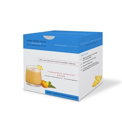 New Direction Advanced Pineapple Apricot Drink 7/Box