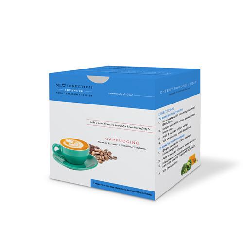 New Direction Advanced Cappuccino 7/box