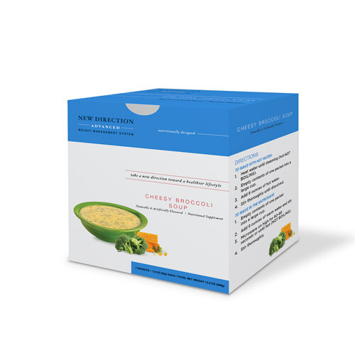 New Direction Advanced Cheesy Broccoli Soup 7/box