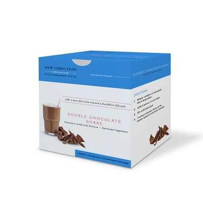 New Direction Advanced Double Chocolate Shake 7/box