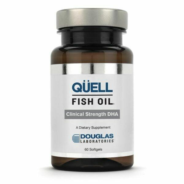 QÜELL® FISH OIL CLINICAL STRENGTH DHA - 60