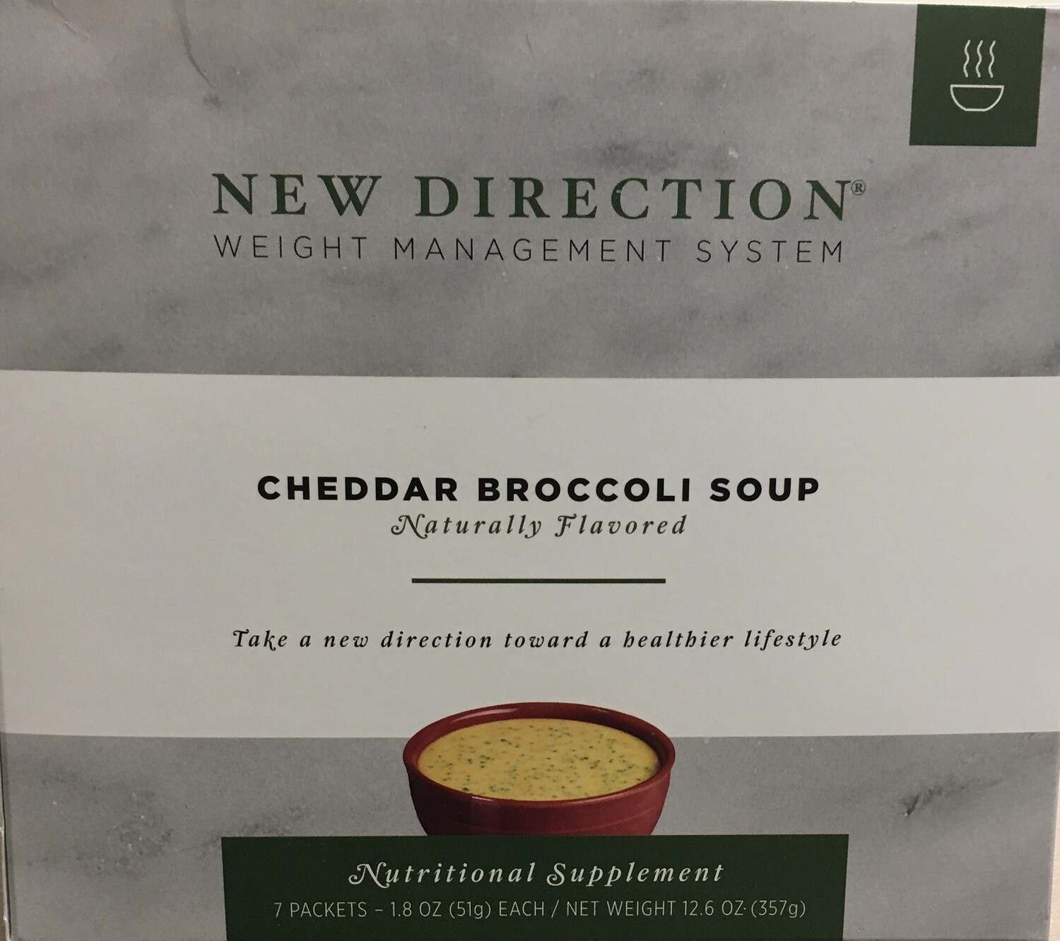 "New Direction Cheddar Broccoli Soup – ""Natural"""