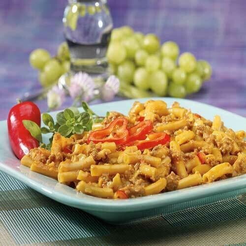 Cheesy Nacho Pasta with Fiber 7/Box
