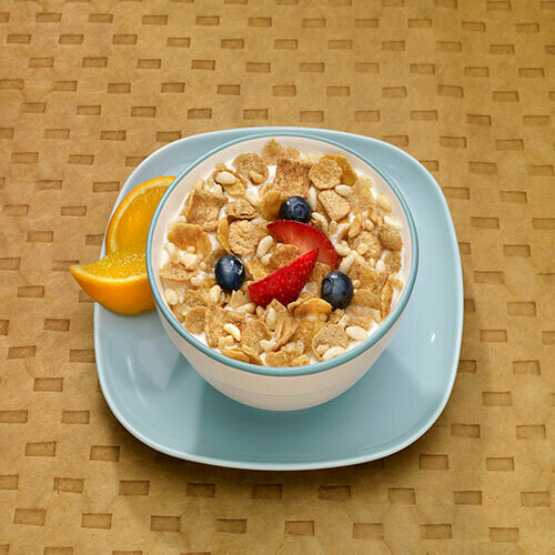 Crunchy Cinnamon Cereal with Fiber 7/Box