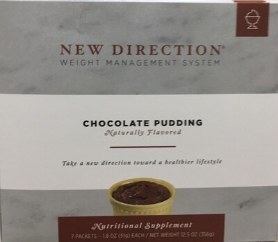 New Direction Chocolate Pudding Natural 7/Box