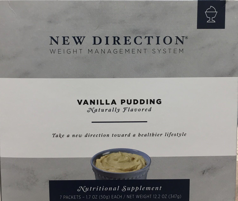 New Direction Vanilla Pudding Natural 7/Box