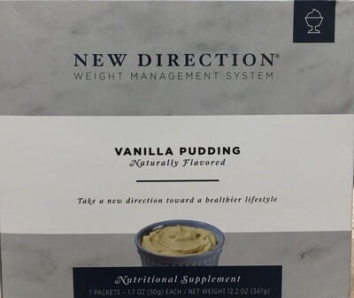 New Direction Vanilla Pudding Natural 7/Box