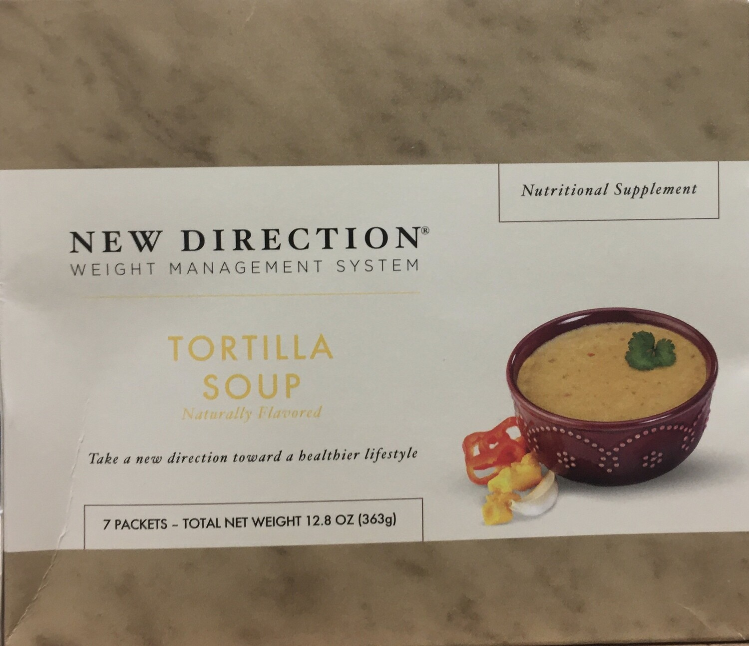 New Direction Tortilla Soup Original 7/Box