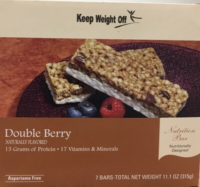 Double Berry Bar 7/Box