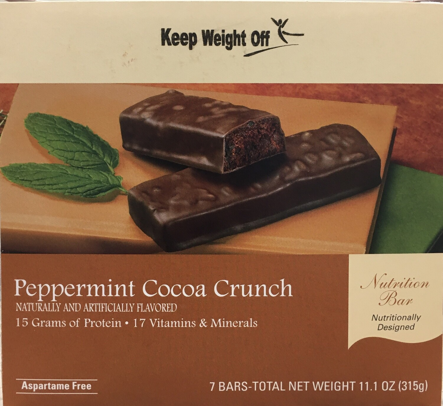 Peppermint Cocoa Crunch Bar 7/Box