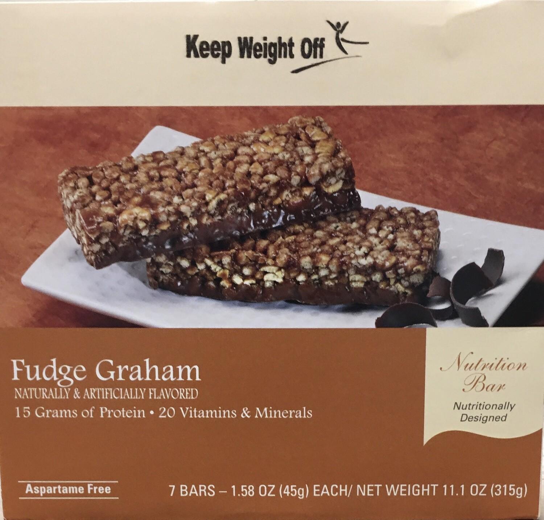 Fudge Graham - 7 Bars