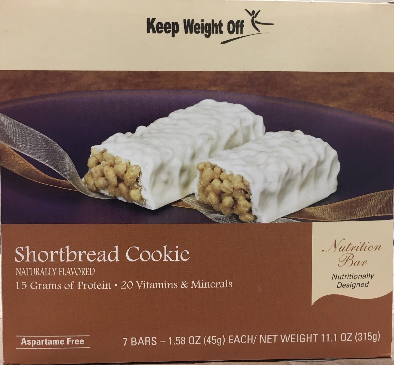 Shortbread Cookie Bar 7/Box
