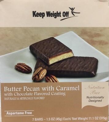 Butter Pecan Bar 7/Box