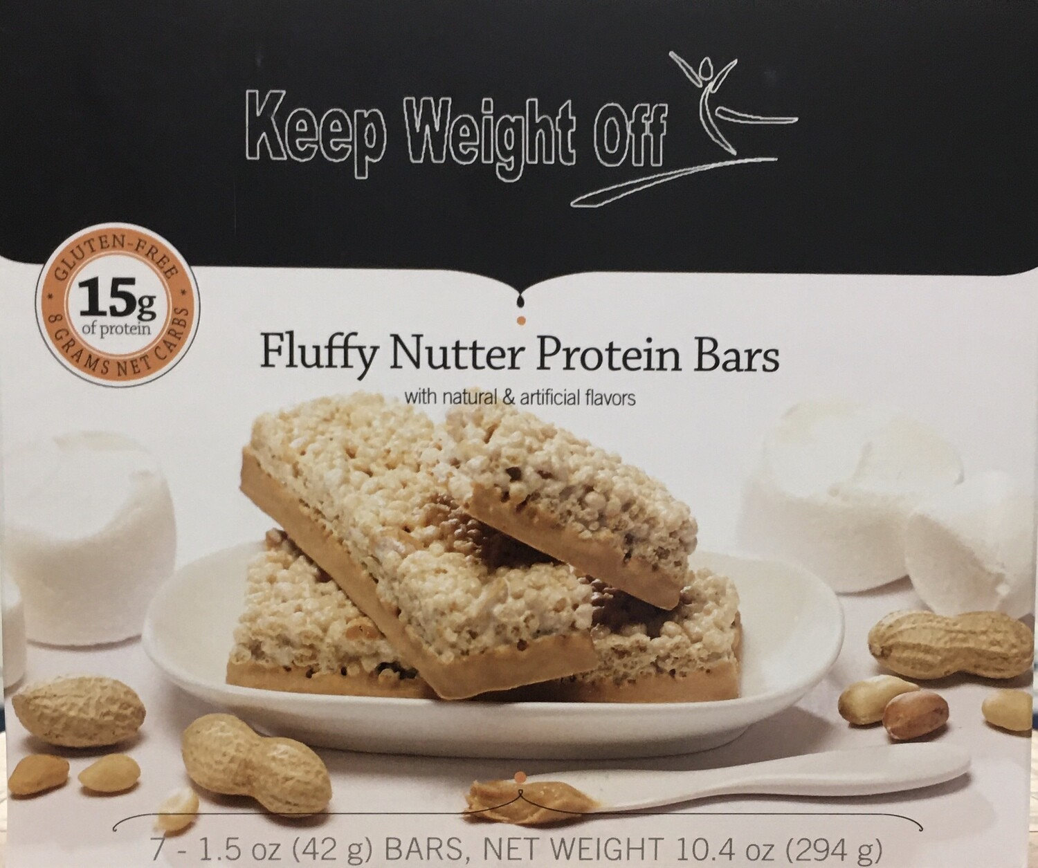Fluffy Nutter Crisp  - 7 BARS