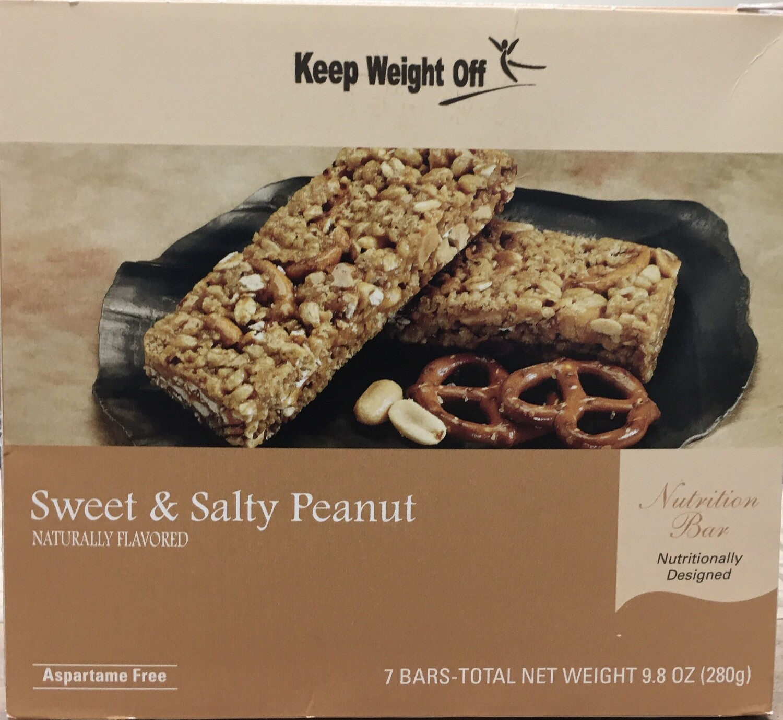 Sweet and Salty Peanut Bar 7/Box