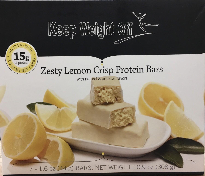 Zesty Lemon Crisp - 7 BARS