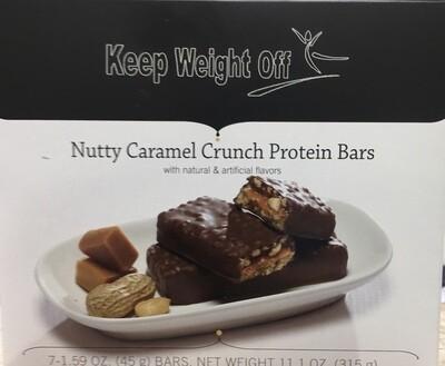 NUTTY CARAMEL CRUNCH 7/box