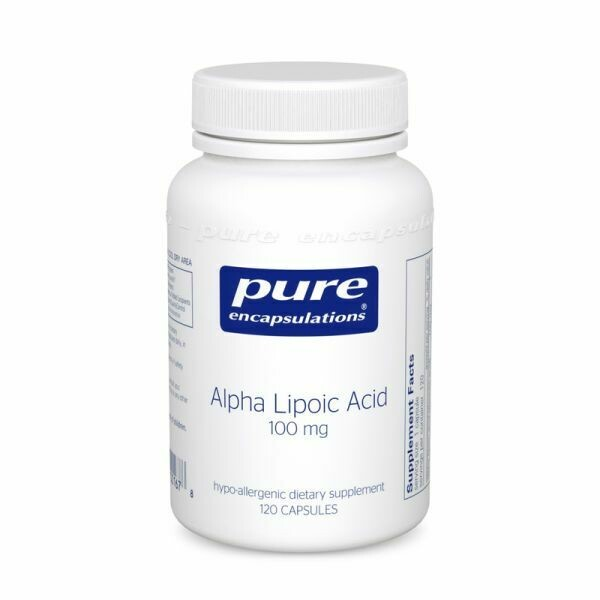Alpha Lipoic Acid 100 mg / 120