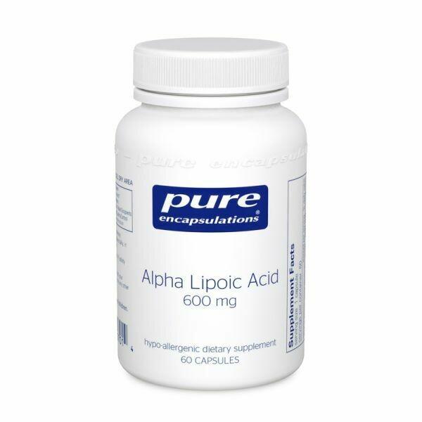 Alpha Lipoic Acid 600 mg. 60's