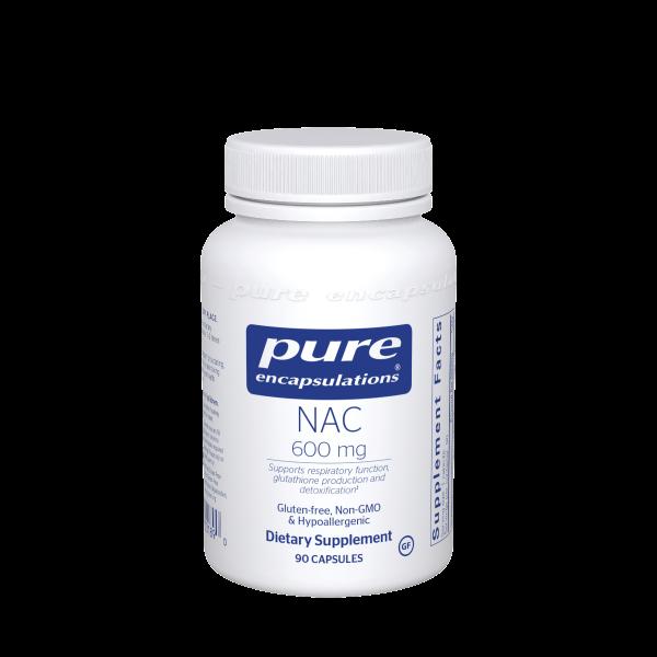 NAC (N-Acetyl-l-Cysteine) 600 mg. 90's