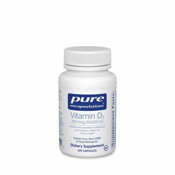 Vitamin D3 250 mcg (10,000 IU) - 120
