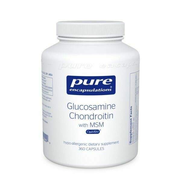 Glucosamine Chondroitin with MSM 360s
