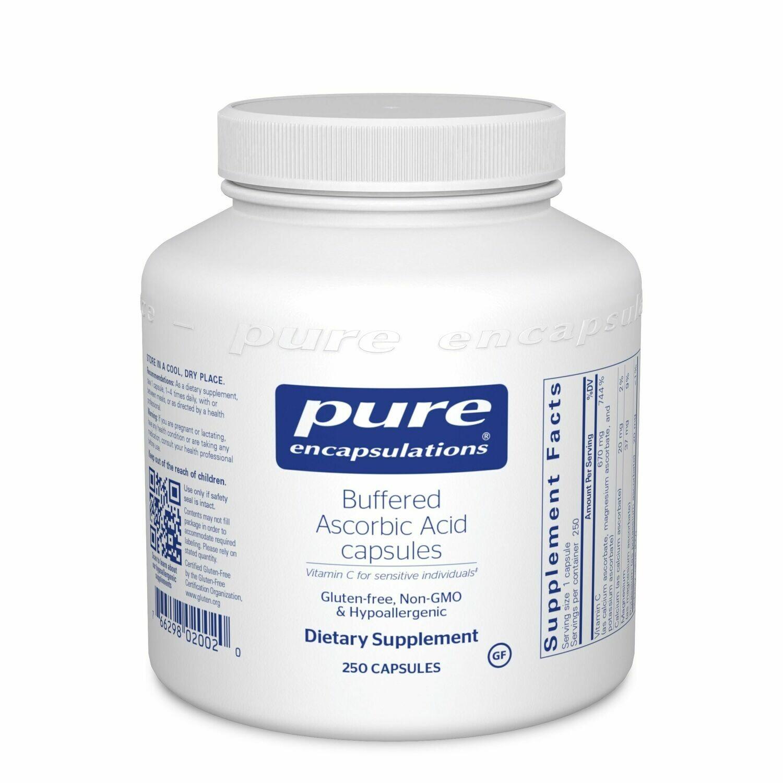 Buffered Ascorbic Acid Capsules 250