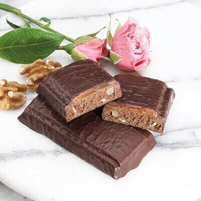 Brownie Bar With Caramel - 7 Bars