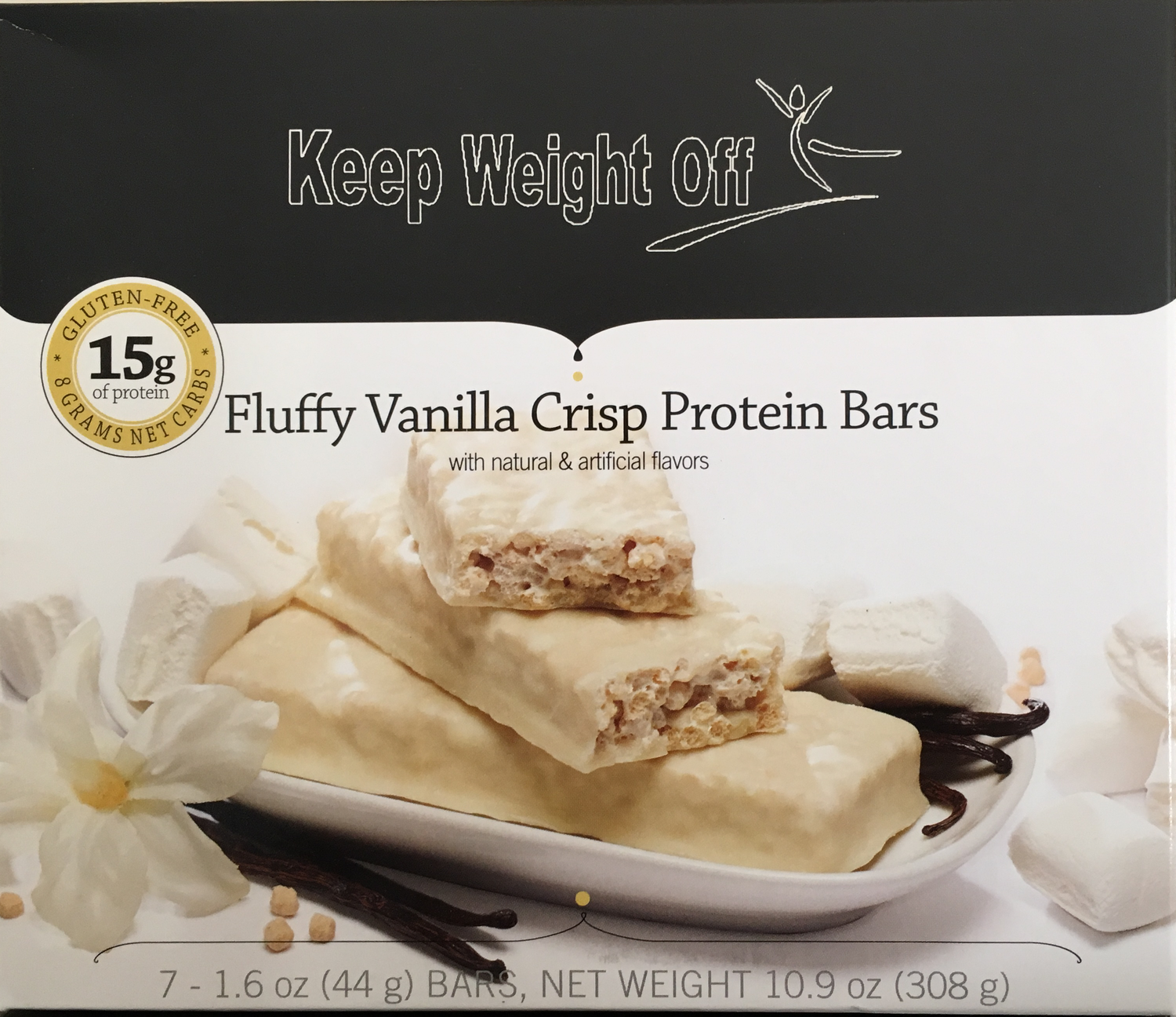 Fluffy Vanilla Crisp - 7 Bars
