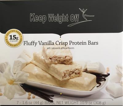 Fluffy Vanilla Crisp - 7 Bars