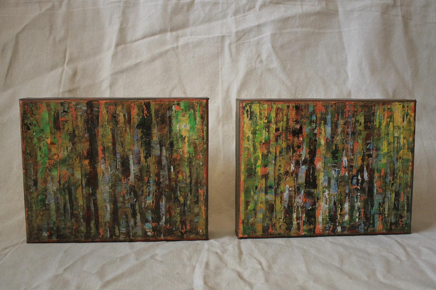 Larger Gallery Style Frame Oil Canvas