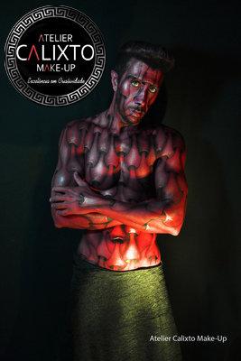 Curso Make-UP ARTÍSTICO &  CARACTERIZAÇÃO