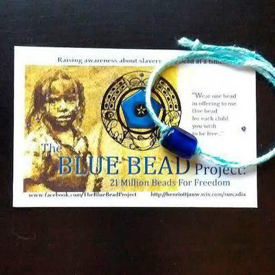 Blue Bead Band